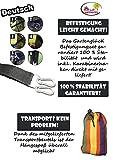 Gartenglück Hängematte Mehrpersonen mit Befestigungsset (220 x 160 cm | in verschiedenen Farben | max 200 kg | inkl. Transportbeutel) -