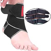 Knöchel-Unterstützung, ANGTUO Sport-Silikon Breathable Nylon-Bandage Pressurized Wrap Knöchel-Schutz preisvergleich bei billige-tabletten.eu
