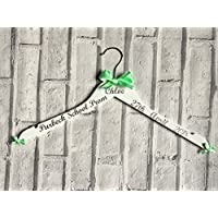 Prom Dress Hanger Personalised Keepsake and Photo Prop for that Special Event Created by CleverCHIC