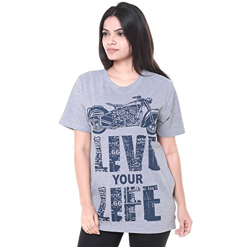 EASY 2 WEAR  Womens T-Shirts (Size S to 4XL) Loose and Long Fit (X-Large)