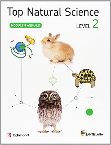 TOP NATURAL SCIENCE 2 ANIMALS - 9788468019598 por Aa.Vv.
