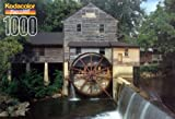 Kodacolor Jigsaw Puzzle 1000 Fully Interlocking Pieces Old Mill At Pigeon Forge
