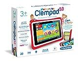 Clementoni 69483 Tablet Clempad per bambini, 3-6 anni, processore Quad Core, display da 5' [Versione Tedesca]