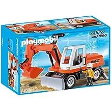 Playmobil Construcción - Excavadora con cargadora frontal (6860)