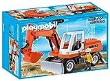 Playmobil Construcción Excavadora con cargadora frontal (6860)