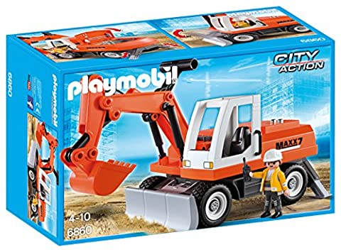 Playmobil Camion Benne - Playmobil - 6860 - Jeu - Tractopelle
