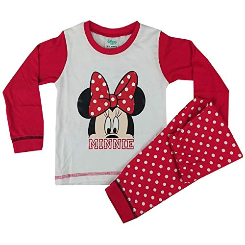 By Disney, Minnie Mouse Pijamas Enteros - para bebé niña