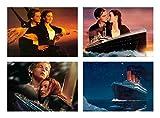 4 Placemats plastic Titanic