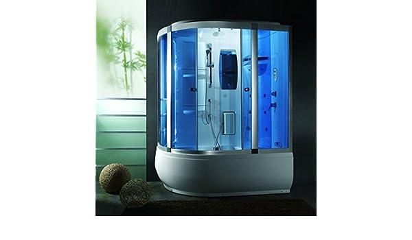 Bagno Turco In Inglese : Cabina e vasca idromassaggio full optional con box doccia