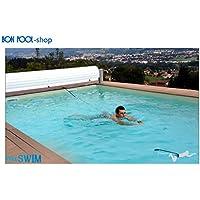 Correa de natación para aqua fitness, de Bonpool®, como nada contra la corriente