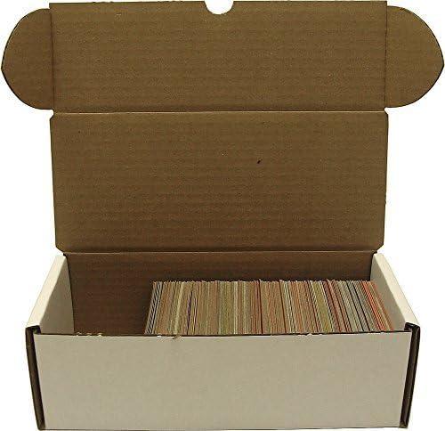 BCW 500 count Storage Box - Corrugated Corrugated Corrugated Cardboard Storage Box - Baseball, Football, Basketball and Hockey cards by bcw | qualità regina  | Lo stile più nuovo  | una vasta gamma di prodotti  | Stili diversi  5d091a