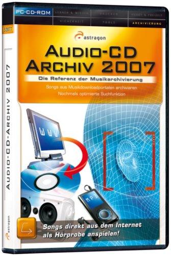 Audio-CD-Archiv 2007, DVD-ROM Die Referenz der Musikarchivierung. Gigantische Datenbank mit über 2.200.000 Einträgen! Ausschnitte von Musikvideos darstellbar. Für Windows 2000, XP Home and Professional, Vista