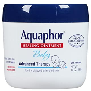 Aquaphor Baby Healing Ointment, Advanced Therapy, 14 Ounces (396 G) (Pack Of 2)