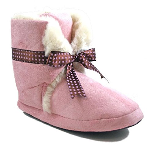 goody-2-shoes-choc-chip-zapatillas-de-estar-por-casa-para-nina-rosa-rosa-color-rosa-talla-30-eu-infa