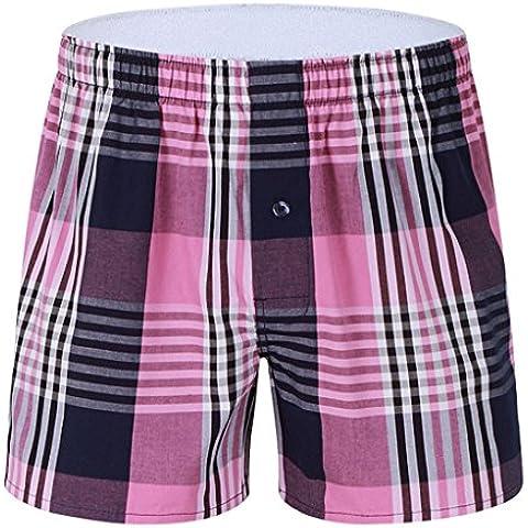 Pantalones cortos de algodón para hombre del boxeador Gillbro