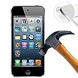 Lusee® 2 X Pack Protezione Schermo vetro temperato per Apple Apple ipod touch 5G Pellicola Vetro Protettivo Salvaschermo e Film protettiva ultra-duro vetro 9H