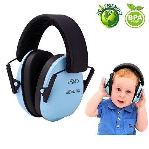 Preisvergleich Produktbild Baby Gehörschutz Ohrmuscheln für Kinder unter Für 3 Monate bis 12 Jahre - Lärmschutz Ohrschutz für Kleinkind Kind, Blau