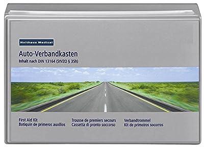HOLTHAUS Verbandkasten Verbandskasten Erste Hilfe DIN13164 (MDH 02.2022)