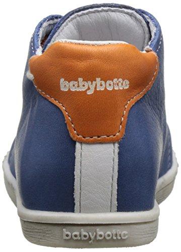 Babybotte Footing, Bottillons Bébé Garçon Bleu (Bleu/Orange)