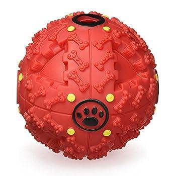 Jouets Interactifs pour Chiens par FurryFido, Boule de jouets pour chiens et distribuer des friandises pour les chiens de petites et moyennes tailles et os à mâcher. Casse-tête drôle de chien et Jouets des Chiens pour l'ennui et le raisonnement