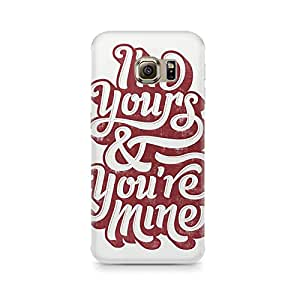 Printed back cover for Samsung Galaxy S6 by Motivatebox.I am yours design, Polycarbonate Hard case with premium quality and matte finish