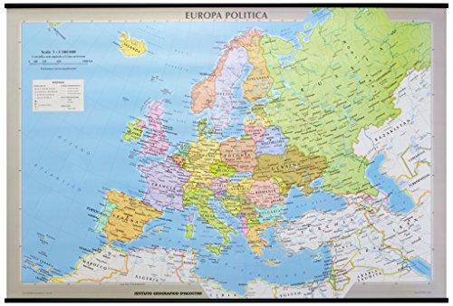 Libro europa carta murale fisica e politica di aa vv - Ci mappa da colorare pagina di mappa ...