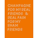 Champagne Friends Sham Pain Large Art Print Poster Wall Decor 18x24 inch