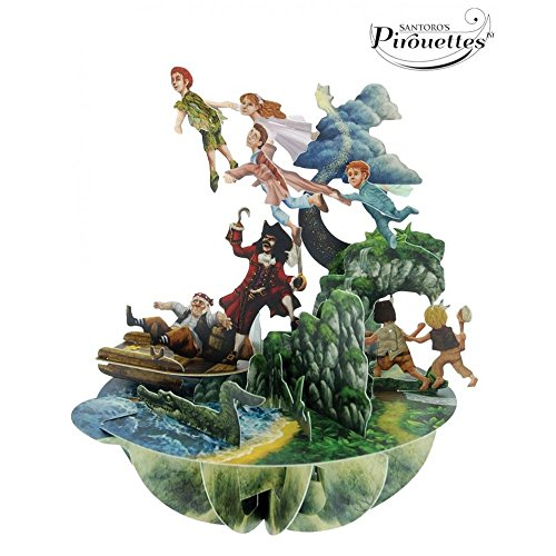 santoro-3d-pirouette-pop-up-carte-de-vux-motif-peter-pan