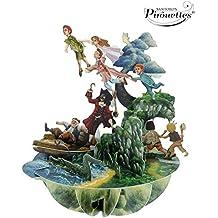 Santoro 3D Pirouette Pop-Up Greeting Card - Peter Pan