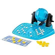 JUEGO 'BINGO' · juego de números con una verdadera máquina de sorteo · permitirá vivir grandes emociones a todos los participantes · edad: 6 años · 28 x 27 cm · 90 bolitas · 120 fichas · #1556
