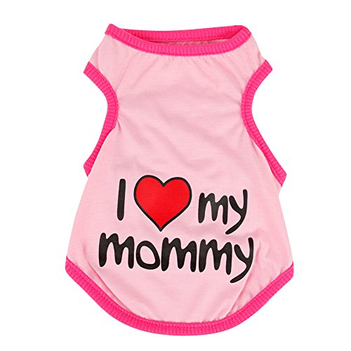 eleery-haustier-hund-welpen-suss-i-love-mommy-shirt-t-shirt-pullover-overall-mantel-samt-kleidung-ou