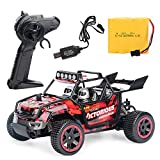DODUMI Voiture TéLéCommandéE Cars,Voiture Radio TéLéCommandéE Rough ,Voiture Buggy TéLéCommandéE,Jouet Auto Pour Enfants 1:20 Scale Rc Car Off Road Vehicle 2.4G Radio Remote Control Car Racing (Rough)