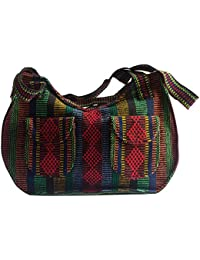 Hand-Woven Artisanal Handbag (Large) (Red, Green, Black, Yellow, Blue, Orange) By Pinz³N