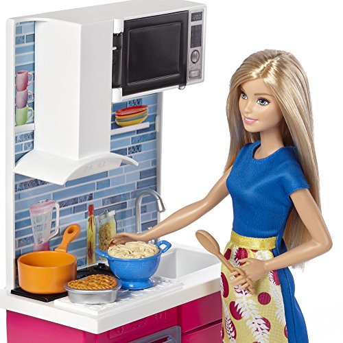 Barbie DVX54 - La Cucina di Barbie - Legnotoys.it