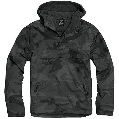 Brandit - Blouson - Manches Longues - Homme Multicolore - Motif camouflage Foncé
