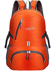 G4Free 30L Ultra Lightweight Tear & Water Resistant Foldable Backpack Packable Rucksack for Travelling, Camping, Cycling, Hiking or Multipurpose Daypacks