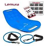 Lemura Fitness Balance Board mit Bändern +...
