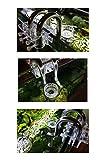 Metall Lily Pipe Oberflächenabsauger Skimmer Edelstahl Inflow Outflow Set für Wasserpflanzen (13mm für 12/16mm Schläuche) - 7