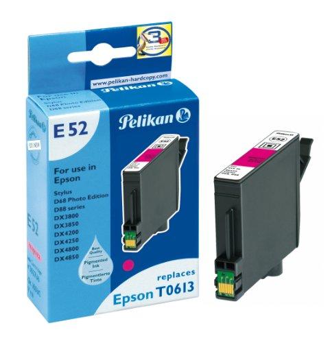 Preisvergleich Produktbild Pelikan Druckerpatrone E52 ersetzt Epson T06134010, Magenta (pigment)