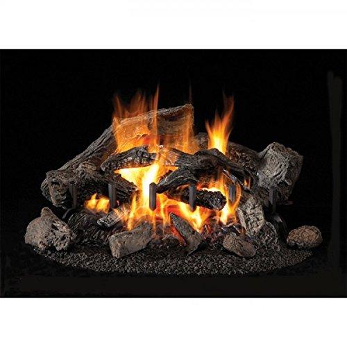 ProKira - Leños de cerámica para chimeneas de bioetanol (9 unidades)