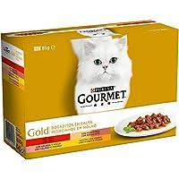 8 cajas de 12x85gr de Gourmet Gold Bocaditos en Salsa