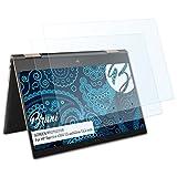 Bruni Protecteur d'écran pour HP Spectre x360 13-ae003na 13,3 inch Film Protecteur, Cristal Clair Écran Protecteur (2X)