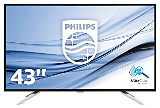 "Philips BDM4350UC Ecran PC IPS 43"" ( 4K, 5ms, VGA/2xHDMI/2xDISPLAYPORT, Enceintes intégrées) (B01CO2QT4M) 