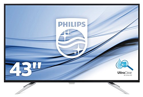 Philips BDM4350UC/00 43-Inch Brilliance 4K Ultra HD LCD Display Monitor - Black
