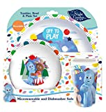 'In The Night Garden' Tumbler Bowl Plate Dinner Set, Multi-Colour