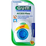 GUM ACCESS Floss Hilo dental para 4 x 50 aplicaciones