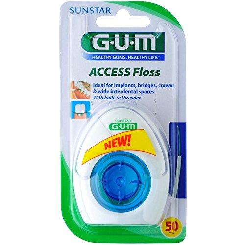 GUM ACCESS Floss für 50 Anwendungen, 6er Vorteilspack (6 Stück)