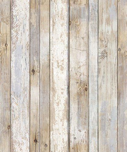 Papel pintado para recuperar paneles de madera envejecidos, auto adhesivo