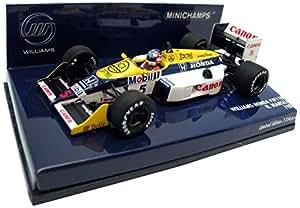 Minichamps - 400870005 - Véhicule Miniature - Modèle À L'échelle - Williams Fw 11b - 1987 - Echelle 1/43