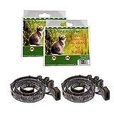 Lyra Pet 2 x Iperon Bio Flohhalsband Katze 38 cm Ungezieferschutz für Katzen